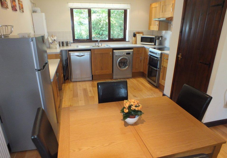 Kestrel Lodge Kitchen - Blagdon Farm