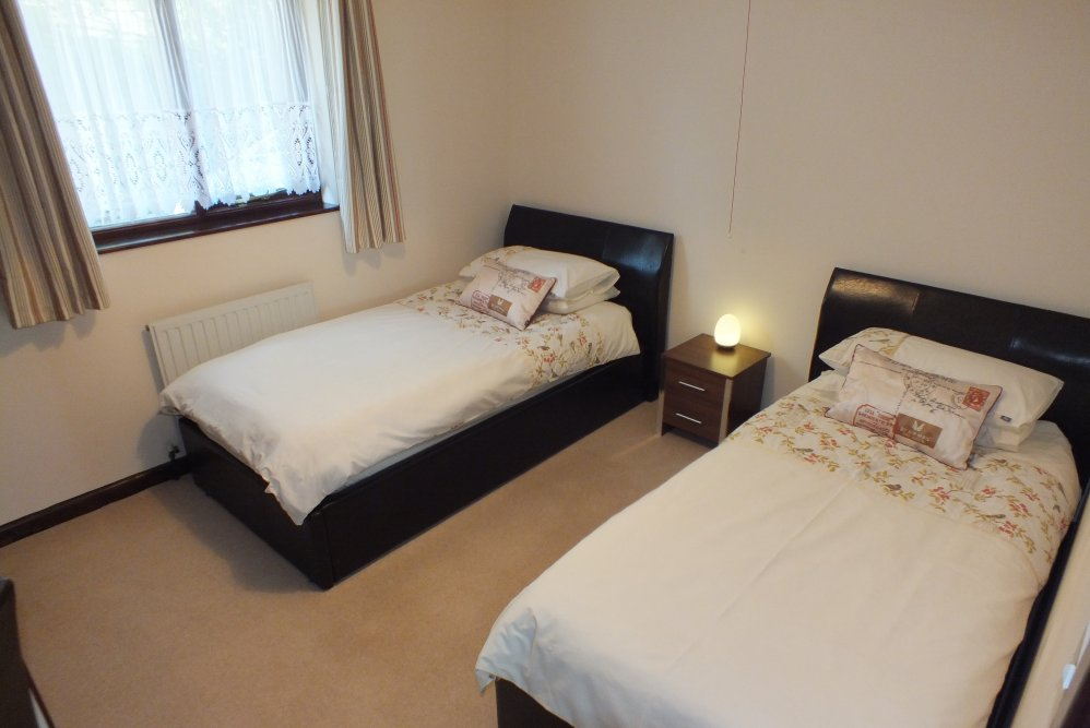 Twin Bedroom - Blagdon Farm